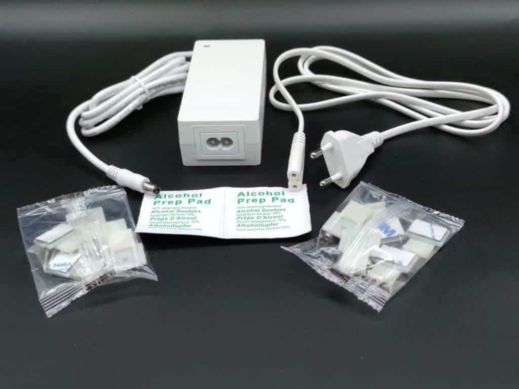 Adaptateur et kit de fixation du ruban Govee H6144 RGBIC