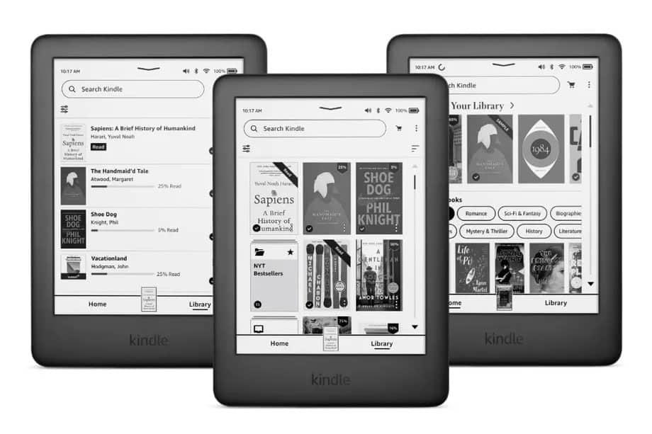 Amazon Kindle : une nouvelle version 2021