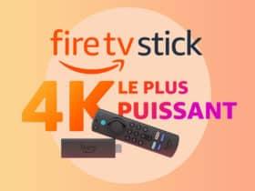Le nouveau Fire TV Stick 4K Max vient d'arriver chez Amazon