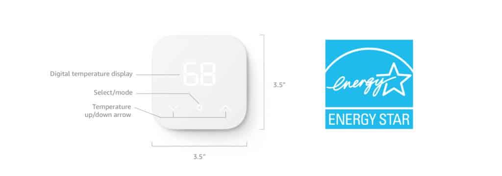 Fiche technique Amazon Smart Thermostat