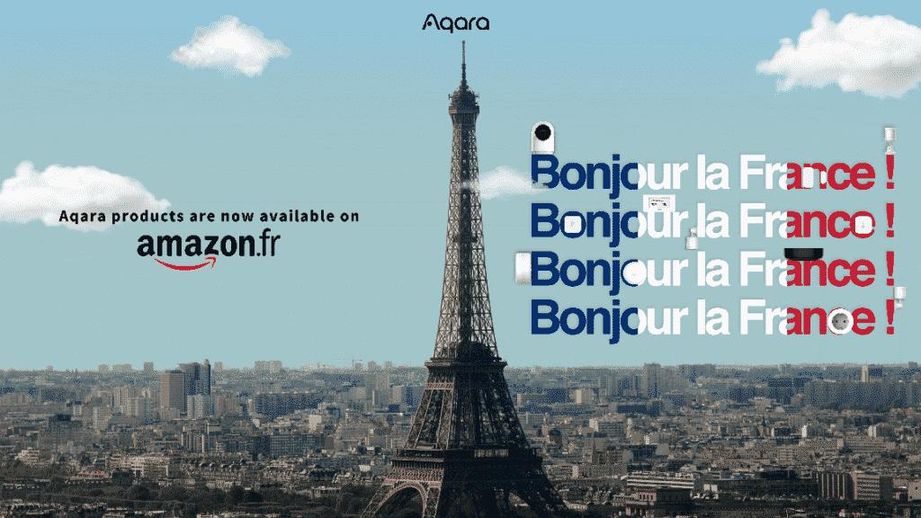 Aqara est désormais disponible sur Amazon France