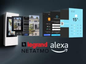 Legrand sort un visiophone connecté compatible Amazon Alexa sous la marque Bticino avec Netatmo