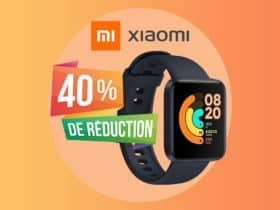 Le prix de la montre connectée Xiaomi Mi Watch Lite fond à vue d'oeil !