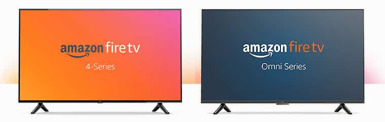 Nouveaux téléviseurs Amazon Fire TV 4-Series et Omni-Series