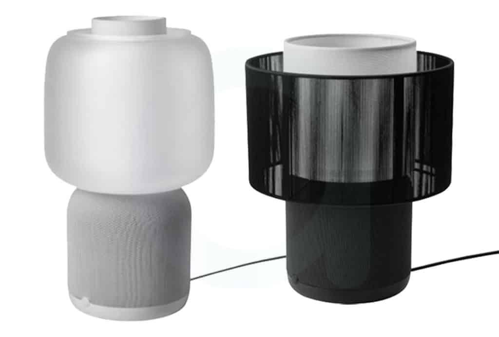 Les deux nouvelles lampes connectées Ikea Symfonisk v2