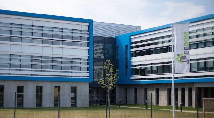 Le siège social de l'entreprise à Lyon