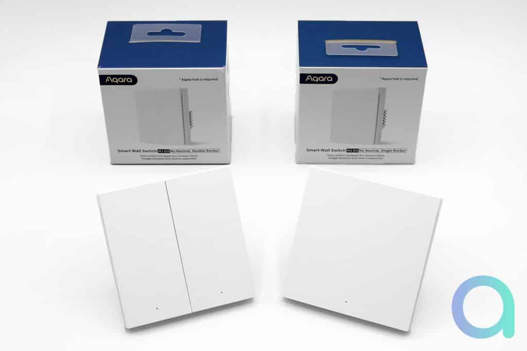 Unboxing des Aqara H1 Eu filaires sans fil neutre