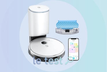 An automatic station for the Yeedi Vac Max robot vacuum