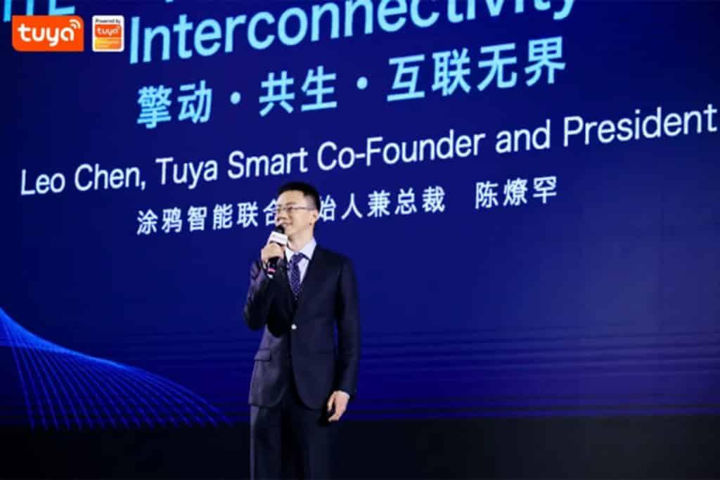 Chen Liaohan, Co - fondateur et président de Tuya