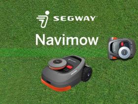 Segway Navimow : une gamme de robots tondeuses sans fil périphérique