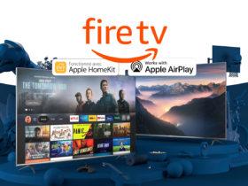 Amazon annonce le support de Apple HomeKit et AirPlay 2 sur Fire TV