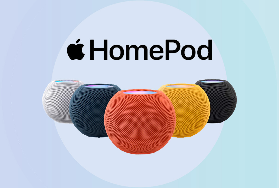 Le HomePod mini sera disponible en trois couleurs supplémentaires