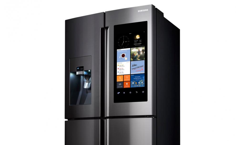 Samsung Family Hub : un réfrigérateur connecté à Alexa